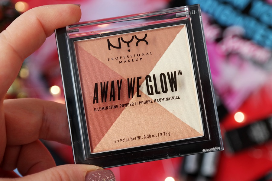 Phấn Má Bắt Sáng NYX Away We Glow Illuminating Powder 1