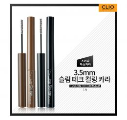 Mascara Clio Slim-tech Curling Cara