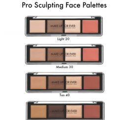 Make Up For Ever Pro Sculpting Pallete